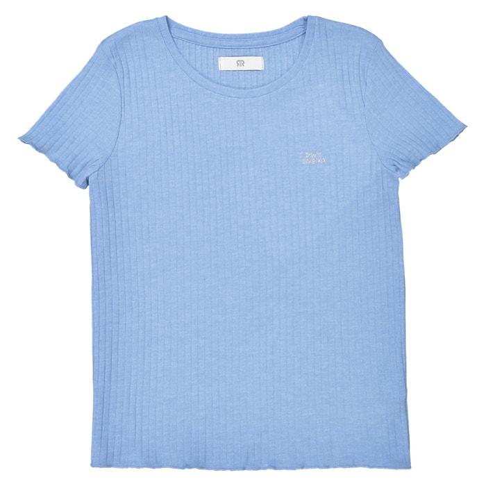 Krótki T-shirt w prążki 10-16 lat  La Redoute Collections image 0