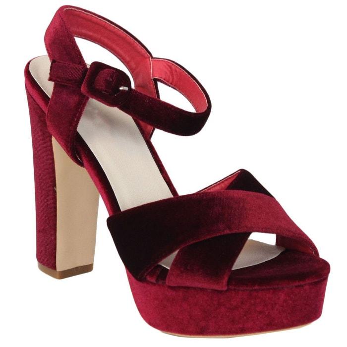 Escarpins ww803 rouge Kebello