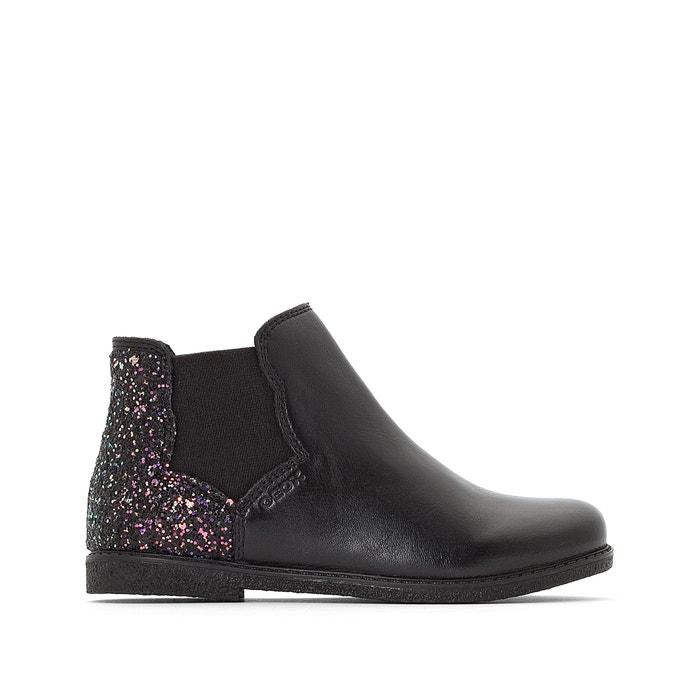a149e1a3dbc7 J shawntel girl ankle boots black Geox