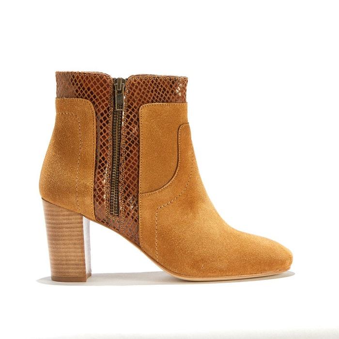 Boots à talon en cuir RAFIKI EXOTIC