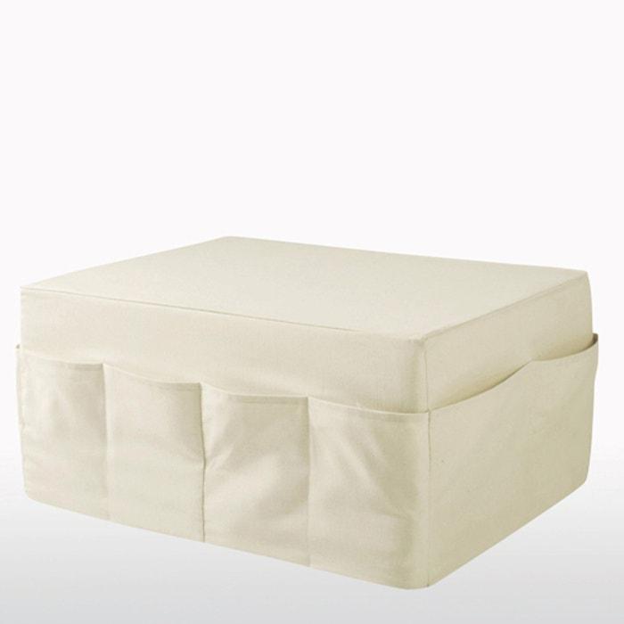 Pouf sfoderabile adulto, comfort gommapiuma, Meeting  La Redoute Interieurs image 0