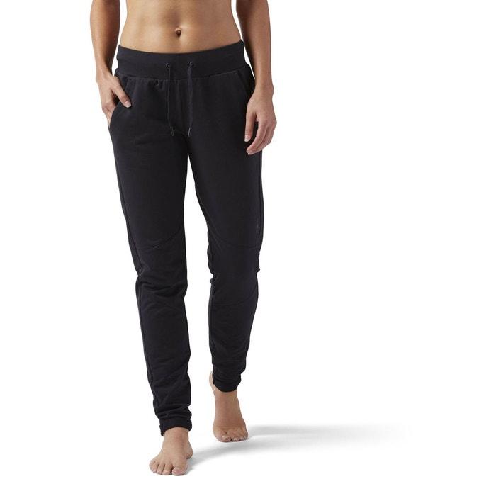Pantalon training supply slim noir Reebok Sport  de158687345