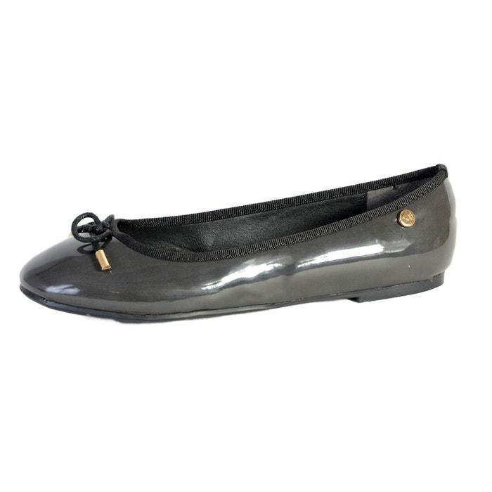 Chaussures zapato mod gris charol noir Xti