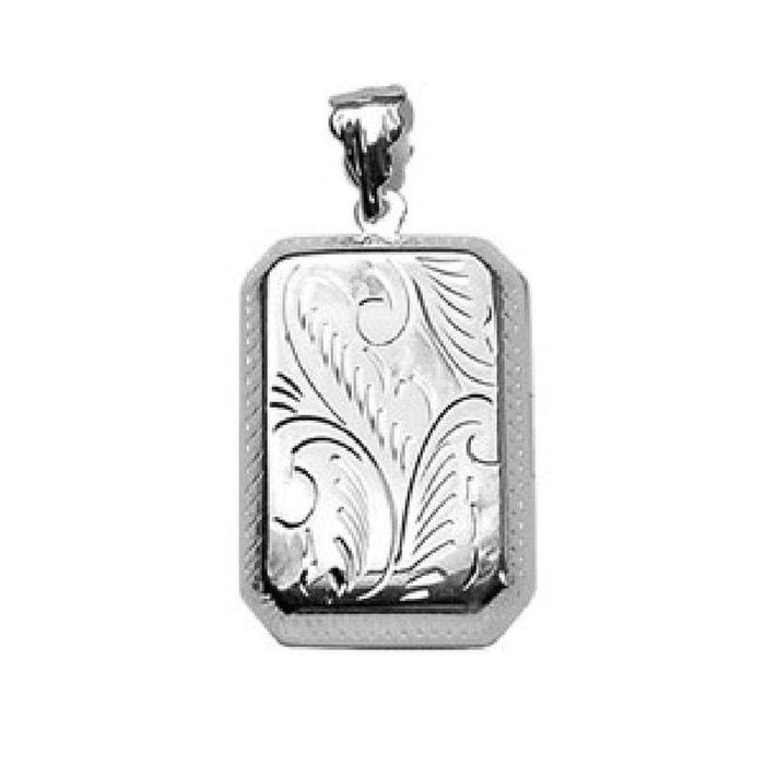 Pendentif cassolette porte photo rectangulaire décoré argent 925 couleur unique So Chic Bijoux | La Redoute Drop Shipping gZjkZ4pHyK