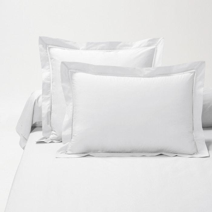 Secret Cotton Percale Single Pillowcase  La Redoute Interieurs image 0