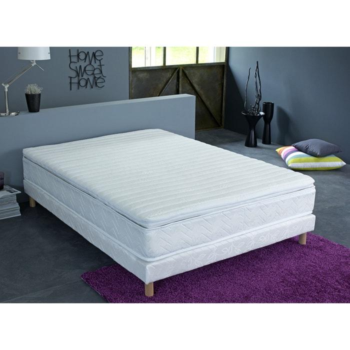 surmatelas de confort mousse hr 7 zones blanc reverie. Black Bedroom Furniture Sets. Home Design Ideas