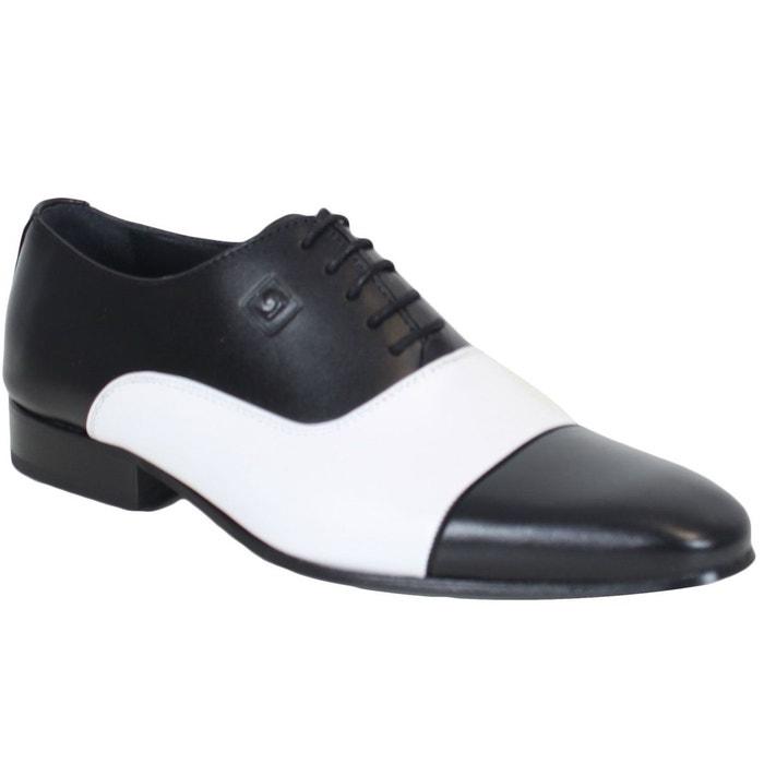 Chaussures pierre cardin en cuir joli nappa noir Pierre Cardin