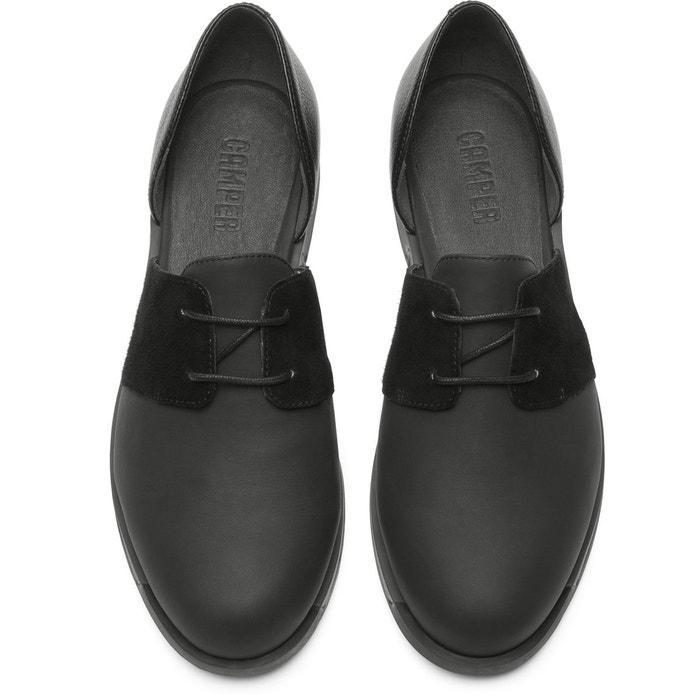 Bowie k200202-005 chaussures plates femme noir Camper