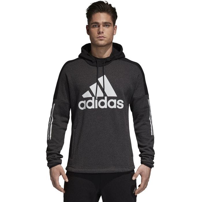 innovative design 51ef6 bb63e Sweat à capuche noir Adidas Performance   La Redoute
