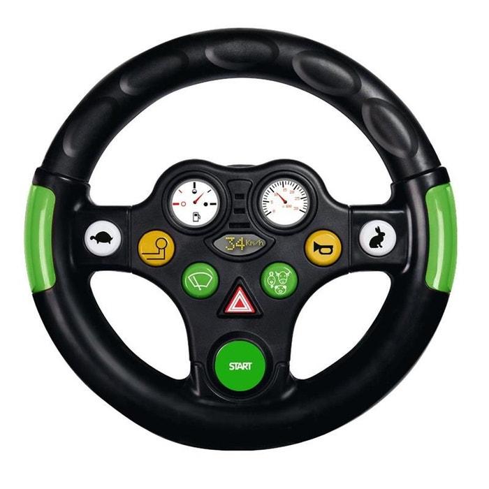 big 800056488 tracteur wheel avec volant sonore couleur unique big la redoute. Black Bedroom Furniture Sets. Home Design Ideas