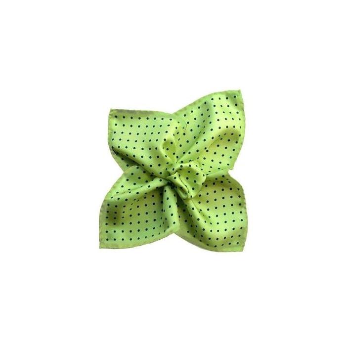 Pochette soie, segni & disegni, milano vert lime vert Segni Et Disegni | La Redoute
