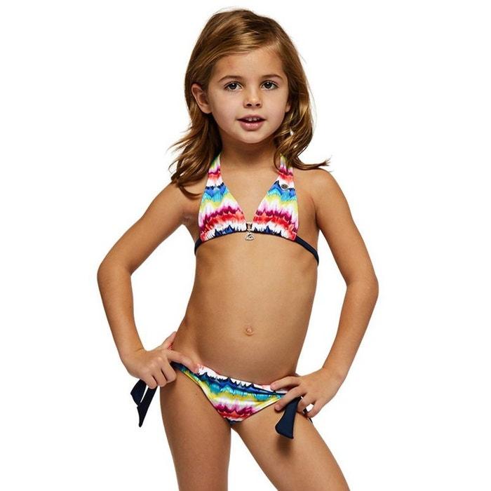 info pour f783a 69093 Maillot de bain Enfant 2 Pièces Triangle Cardye Pawn Rose et Marine