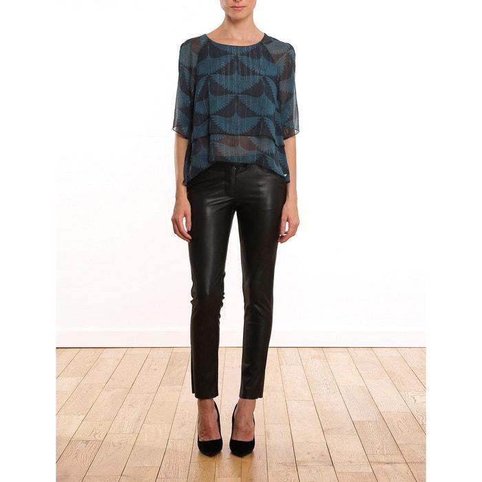 Faux Leather Slim Fit Trousers  LES PETITES BOMBES image 0