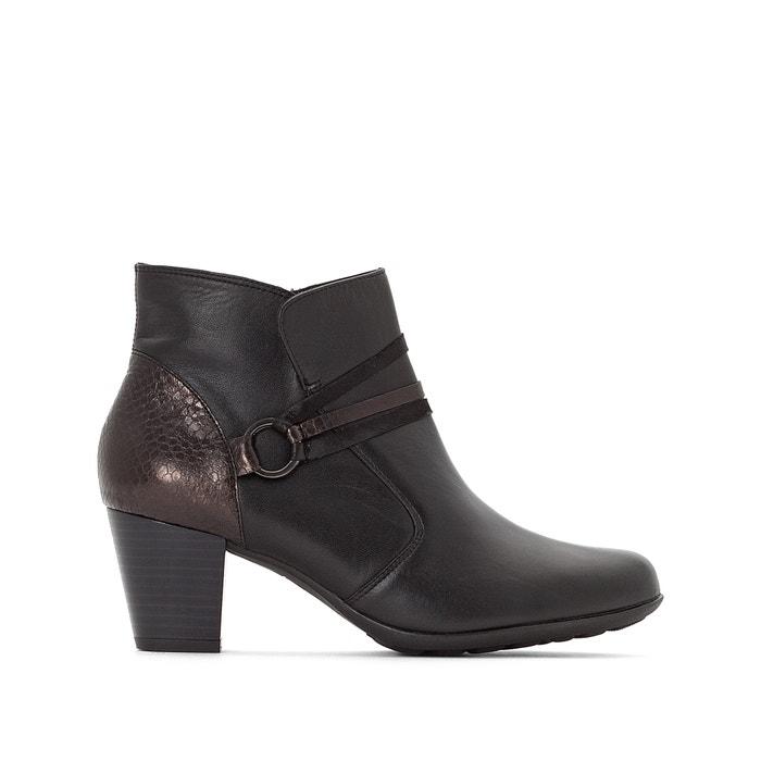 Boots in pelle, dettagli effetto pitone  ANNE WEYBURN image 0