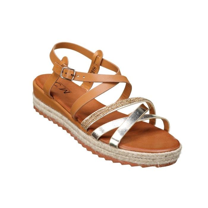 Sandale Sandale Compensée À Sandale Lanières À Lanières Compensée Compensée Yfb7gy6v