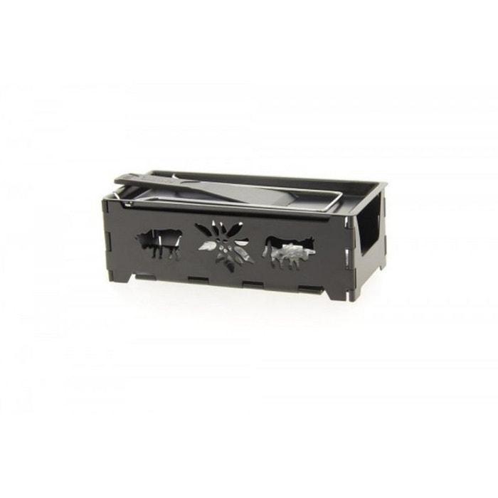 Service raclette pliable avec bougie chauffe plat 'Montagne' TABLE&COOK