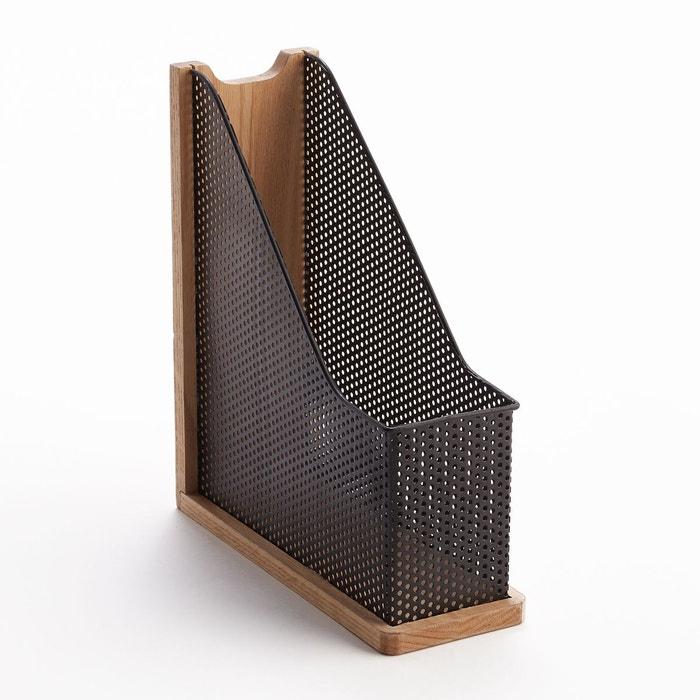 range revues de bureau ordonato m tal noir ch ne am pm la redoute. Black Bedroom Furniture Sets. Home Design Ideas