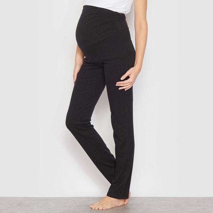 pantalon de pyjama de grossesse noir la redoute collections la redoute. Black Bedroom Furniture Sets. Home Design Ideas