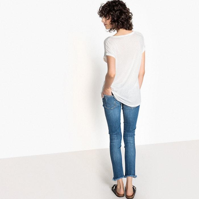 Camiseta corta cuello lisa manga redondo y con 5 KAPORAL Bx6Z5qzq