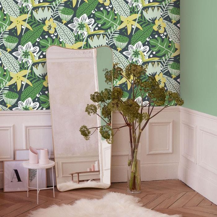 Elle Papier Peint Intisse Tropical Fun Vert Jaune 10 M X 52 Cm Vert