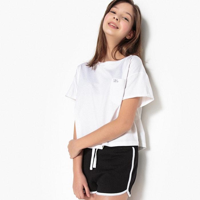 T-Shirt, kurze Loose-Fit-Form, 10-16 Jahre  La Redoute Collections image 0