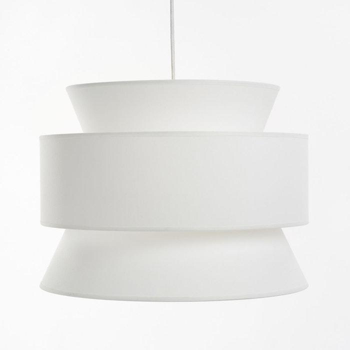 suspension forme 3 abat jours dolkie blanc la redoute interieurs la redoute. Black Bedroom Furniture Sets. Home Design Ideas