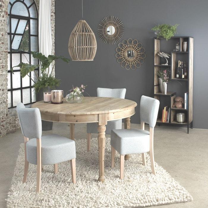 Chaise bois massif design ti30t en soldes bleu clair made in meubles la redoute - Chaises la redoute soldes ...