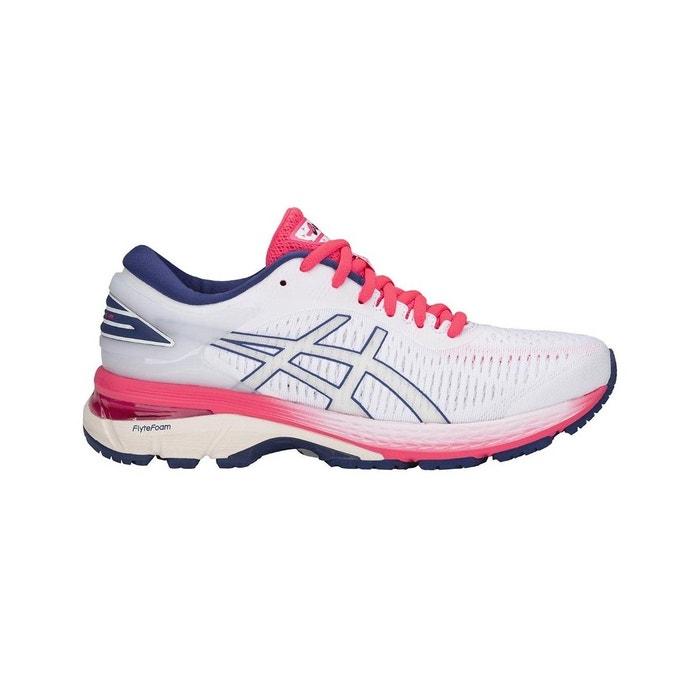 d8f7175548dec Chaussure de running gel kayano 25 - 1012a026-100 blanc Asics   La Redoute