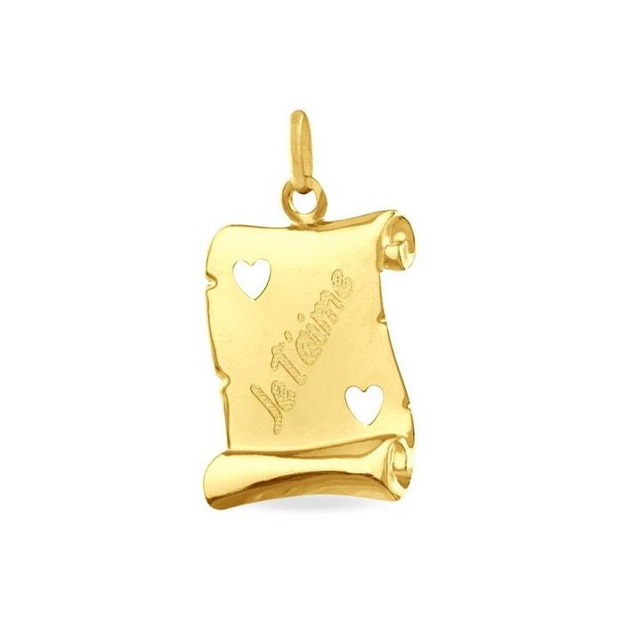Pendentif or jaune Histoire D'or | La Redoute Acheter Package De Compte À Rebours Pas Cher Boutique Pas Cher Recommander Rabais hL8gE4cD