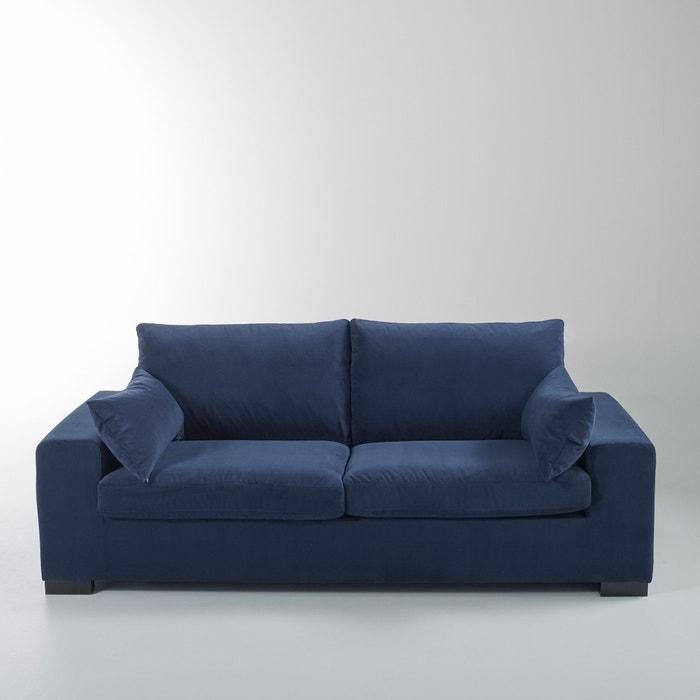 canap convertible odessa bultex velours la redoute interieurs la redoute. Black Bedroom Furniture Sets. Home Design Ideas