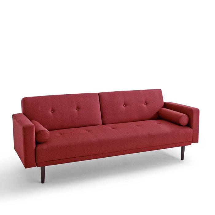canap convertible 3 places tuske bordeaux la redoute interieurs la redoute. Black Bedroom Furniture Sets. Home Design Ideas