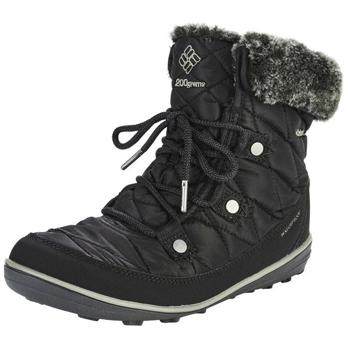dc746f6906c Heavenly shorty - bottes femme - omni-heat noir noir Columbia