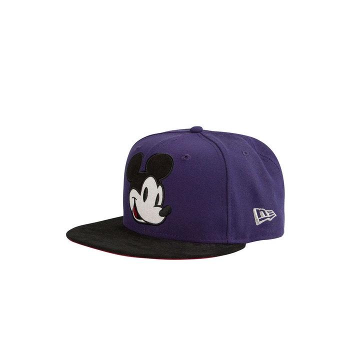 0a70bc6274a79 Casquette retro disney new era violet noir violet New Era   La Redoute