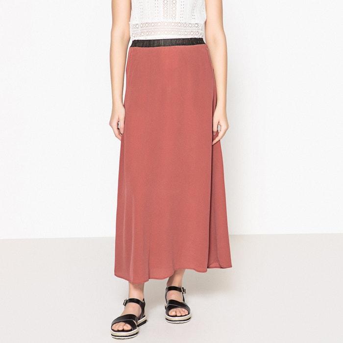 Japito Plain Flared Silk Skirt  DIEGA image 0