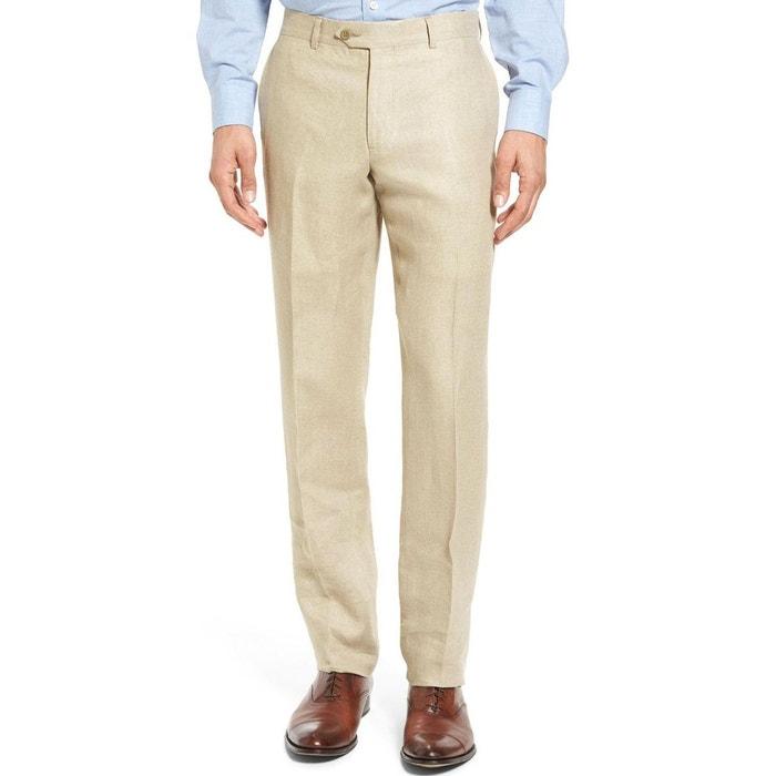 Pantalon en lin beige Kebello   La Redoute eea89802a31b