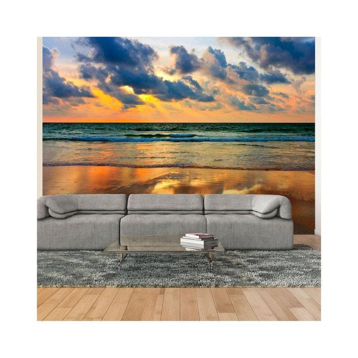 papier peint coucher de soleil color sur la mer dimension 400x309 recollection la redoute. Black Bedroom Furniture Sets. Home Design Ideas
