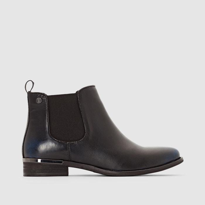 Image Boots en cuir à enfiler ELLE