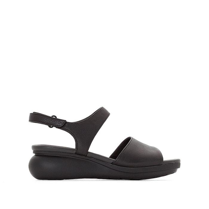 Sandales cuir bllb noir Camper Prix Confortable Pas Cher n969A5