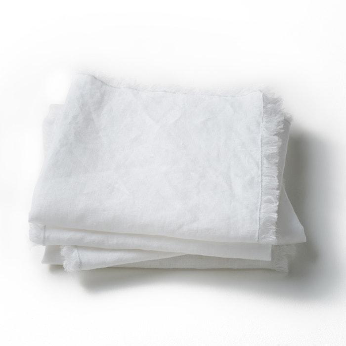 afbeelding Tafelservet in gewassen linnen, Yastigi (set van 4) AM.PM.