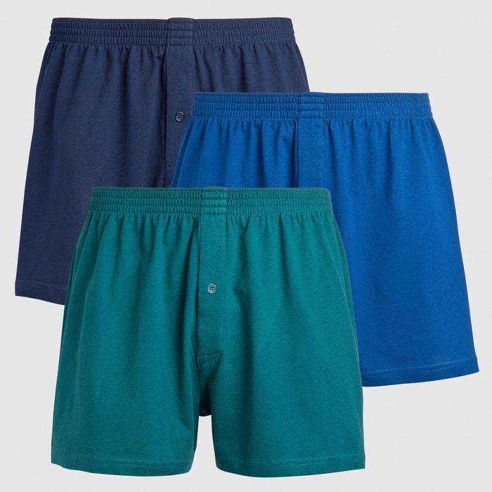 Image Pack of 3 Boxer Shorts CASTALUNA FOR MEN