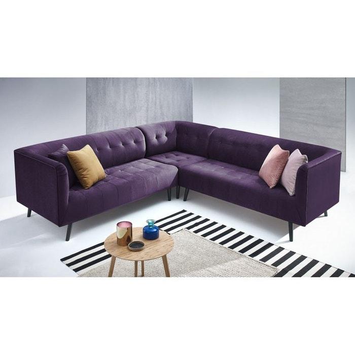 canape d 39 angle panoramique paris kronos 3 prune prune bobochic la redoute. Black Bedroom Furniture Sets. Home Design Ideas