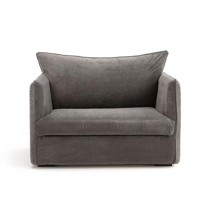 fauteuil xl conv neo chiquito velours am pm la redoute. Black Bedroom Furniture Sets. Home Design Ideas
