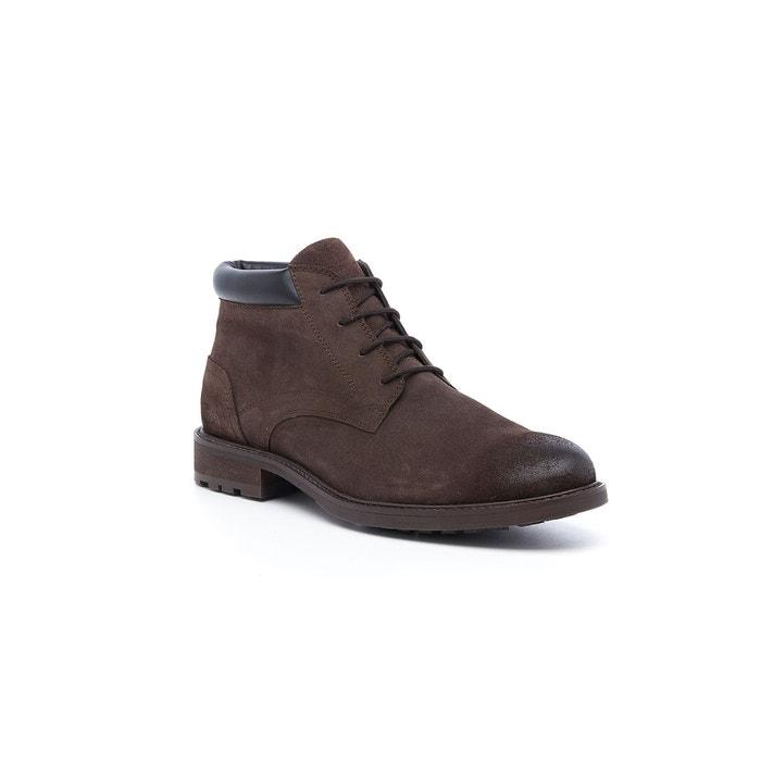 Boots cuir à lacets linka HUSH PUPPIES marron