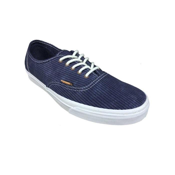 Chaussures u authentic ca bleu Vans