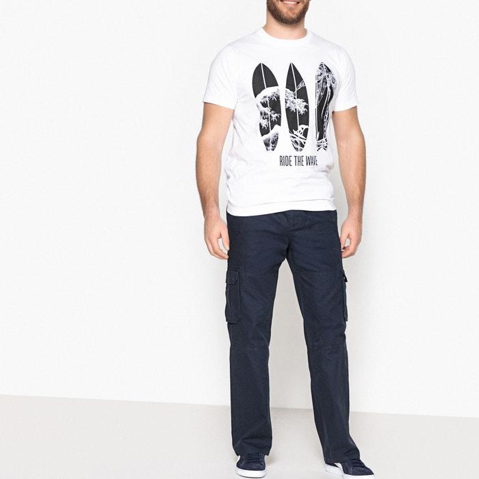 f6d4d6c38d8 Pantalón cargo con cintura elástica azul marino Castaluna For Men ...