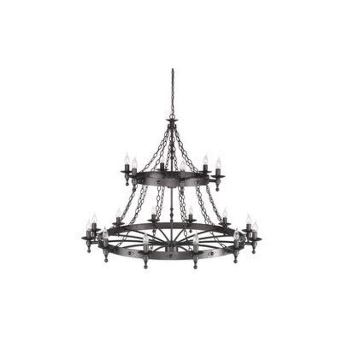 lustre warwick 18x60w noir elstead lighting wr18gr. Black Bedroom Furniture Sets. Home Design Ideas
