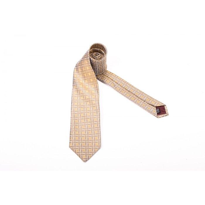 Cravate 464 marron/jaune Gianfranco Ferre | La Redoute La Sortie Meilleure Gros Best-seller En Ligne Gros Rabais Livraison Rapide Réduction ertAguu7