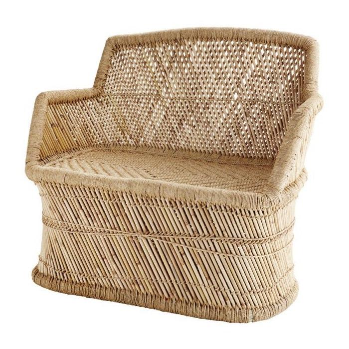 fauteuil bois bambou naturel rtro madam stoltz image 0 - Fauteuil Bambou