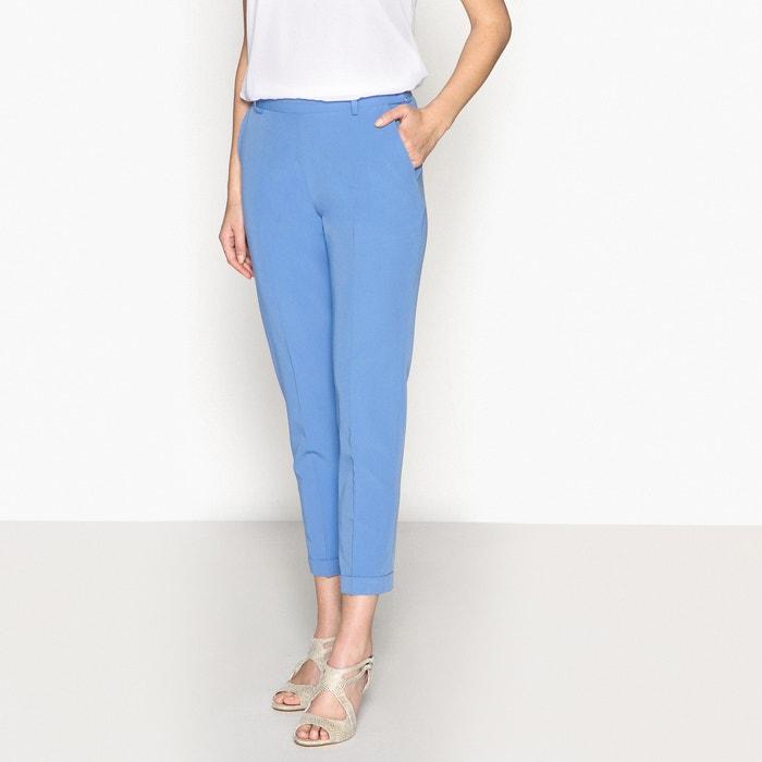 Pantaloni dritti 7/8, sargia stretch  ANNE WEYBURN image 0
