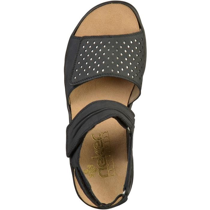 Sandales sombre Rieker